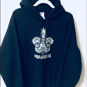 Collectors New Orleans Black Hoodie! 🎭 comfy!!
